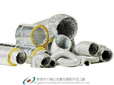 【管(guan)徑(jing)153mm】Insulated aluminum foil flexible duct 保溫(wen)軟管(guan)